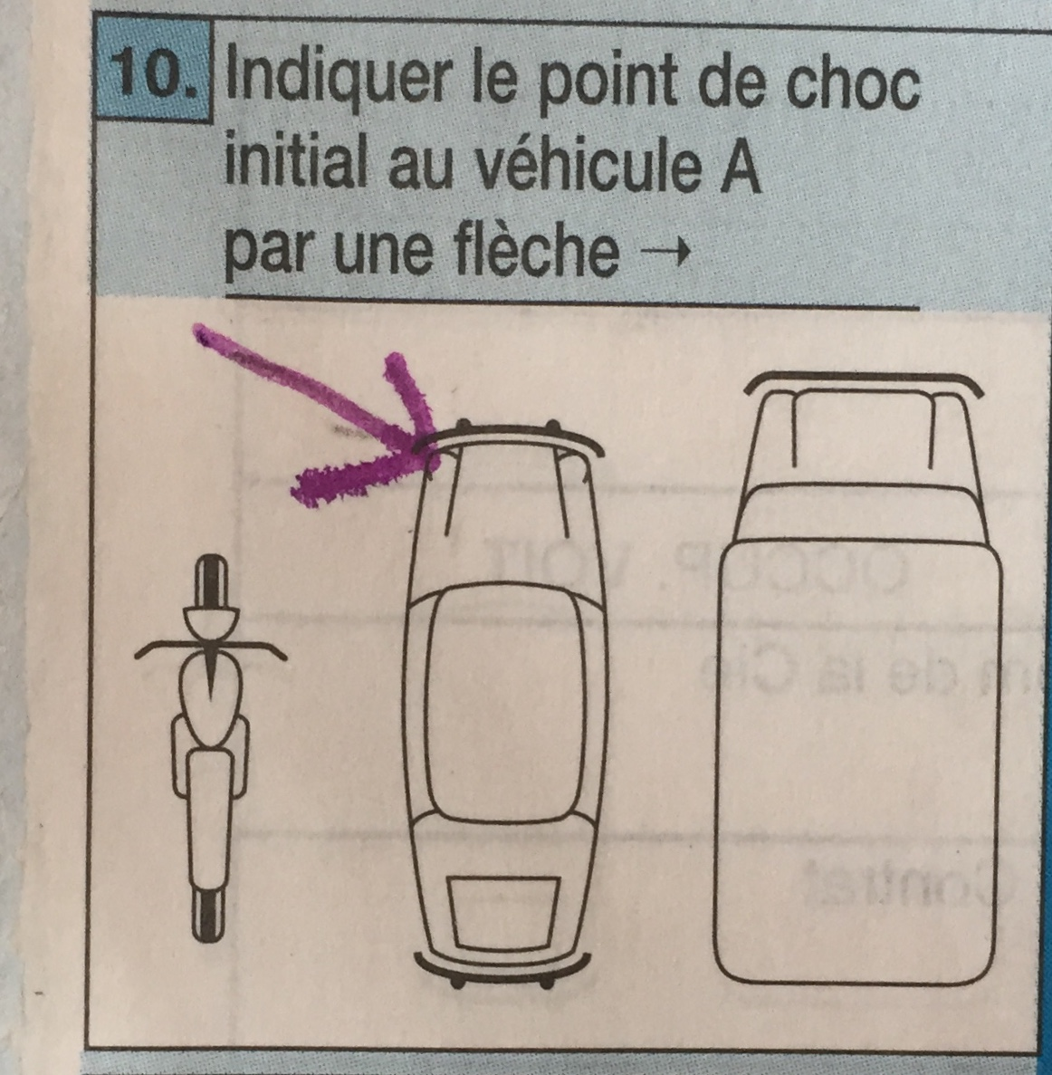 Constat Amiable Auto Point 10